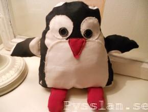 Pysslan gossedjur pingvin