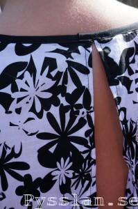 svartvit jobbklänning feature bak pysslan blogg