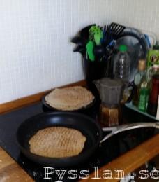 Frukostbröd snabbt enkelt söndagsmorgon lyx Stomp steka bröd Pysslan blogg