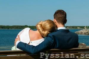 SoS 50-tals inspirerad retro bröllopsklänning rygg pysslan blogg