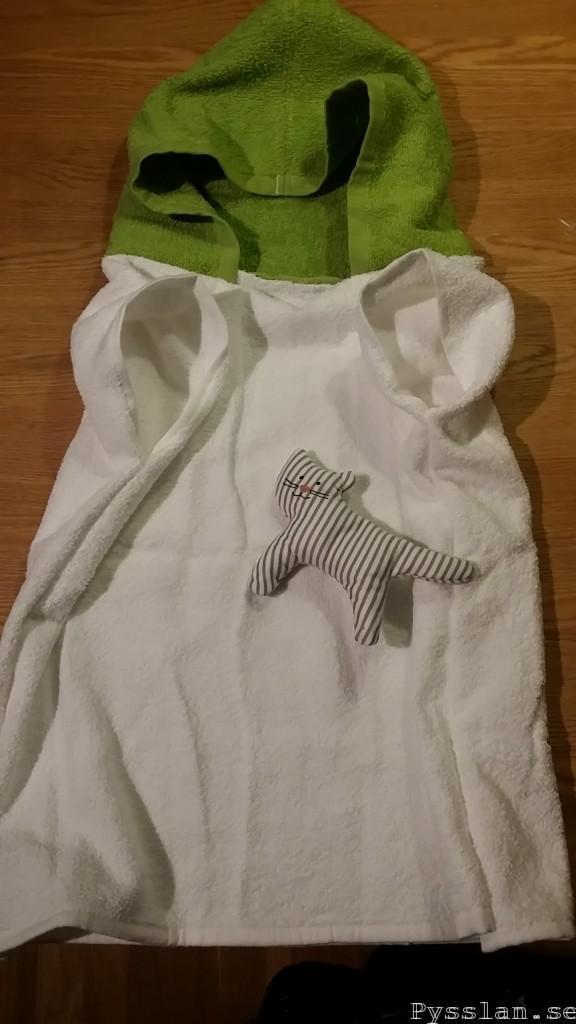 Bebis badrock hur gör man slutresultat pysslan blogg