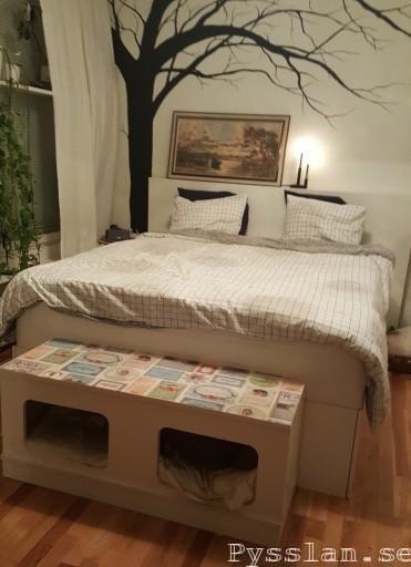 Sängstomme med maximal förvaring Pysslan