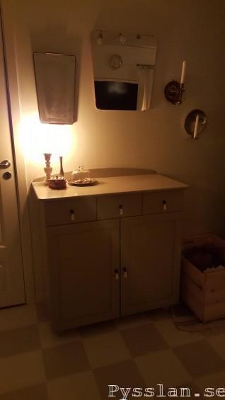 renovera marmor alabaster lampfot loppisfynd slipa helhet pysslan blogg