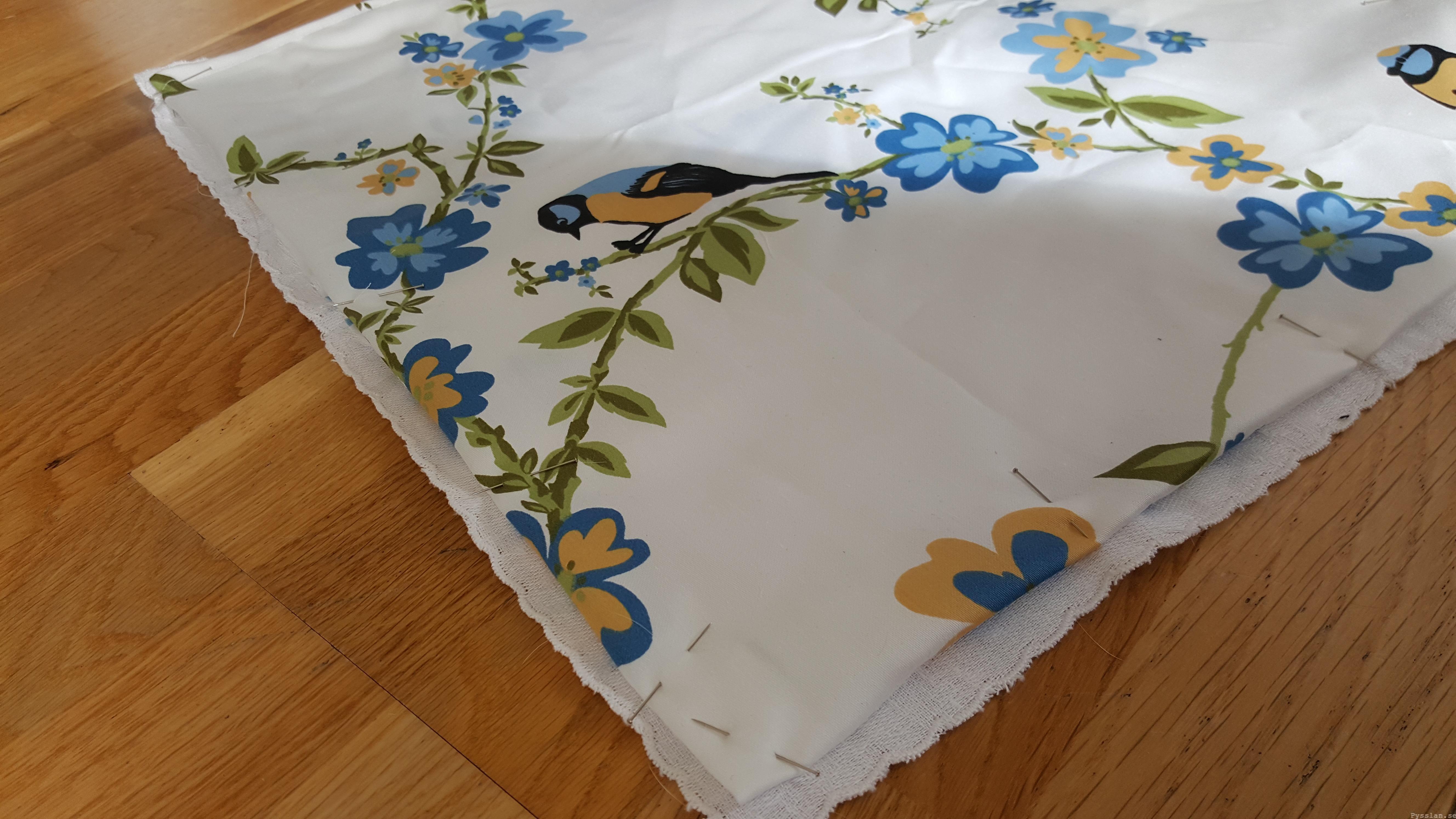 Romantiska kuddfodral av loppisfynd handduk duk pysslan blogg sy 3