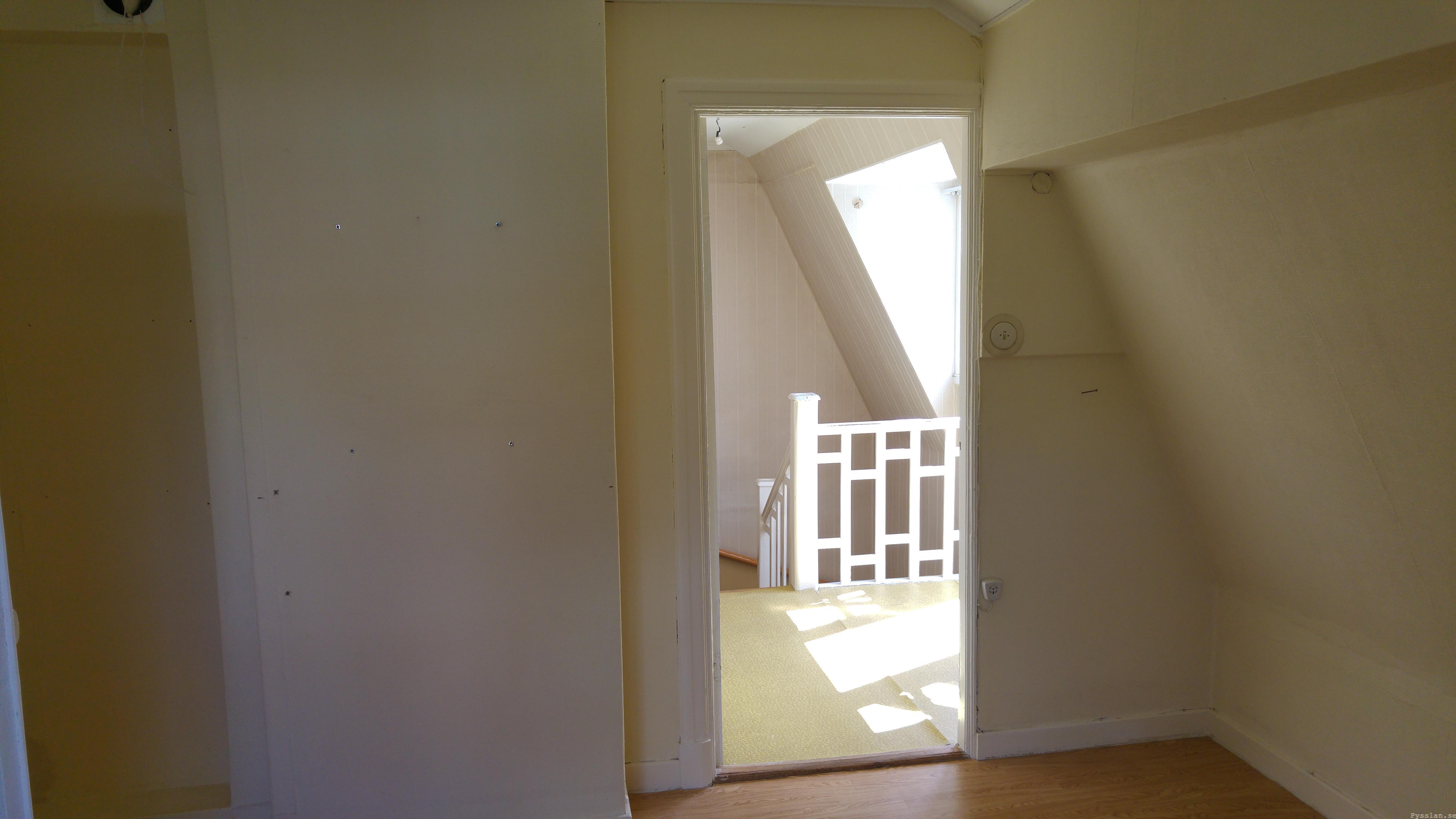 drömhus 20-talshus rött hus vita knutar renovering jugend husdröm pysslan blogg stora sovrummet