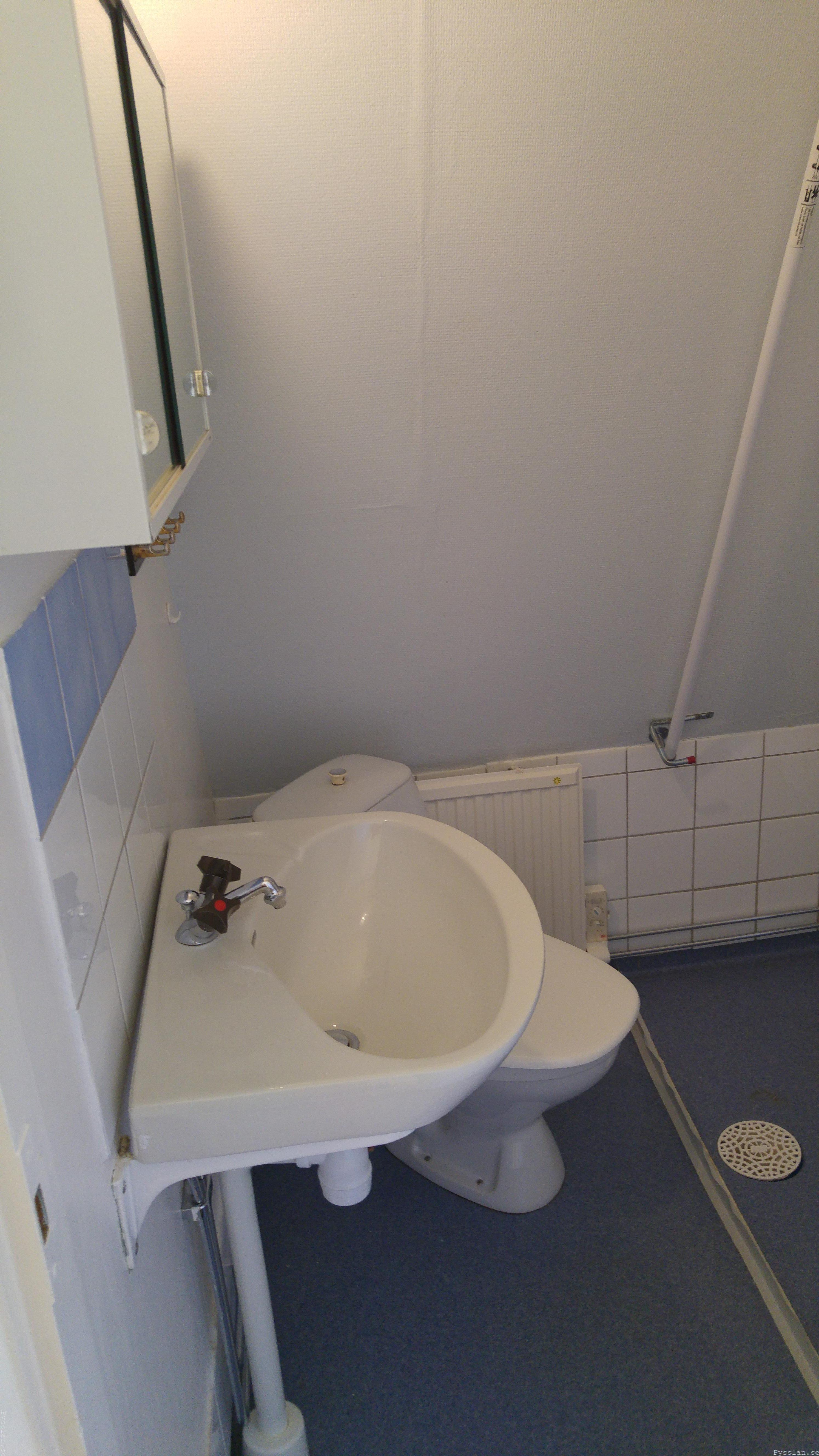 drömhus 20-talshus rött hus vita knutar renovering jugend husdröm pysslan blogg badrum blått