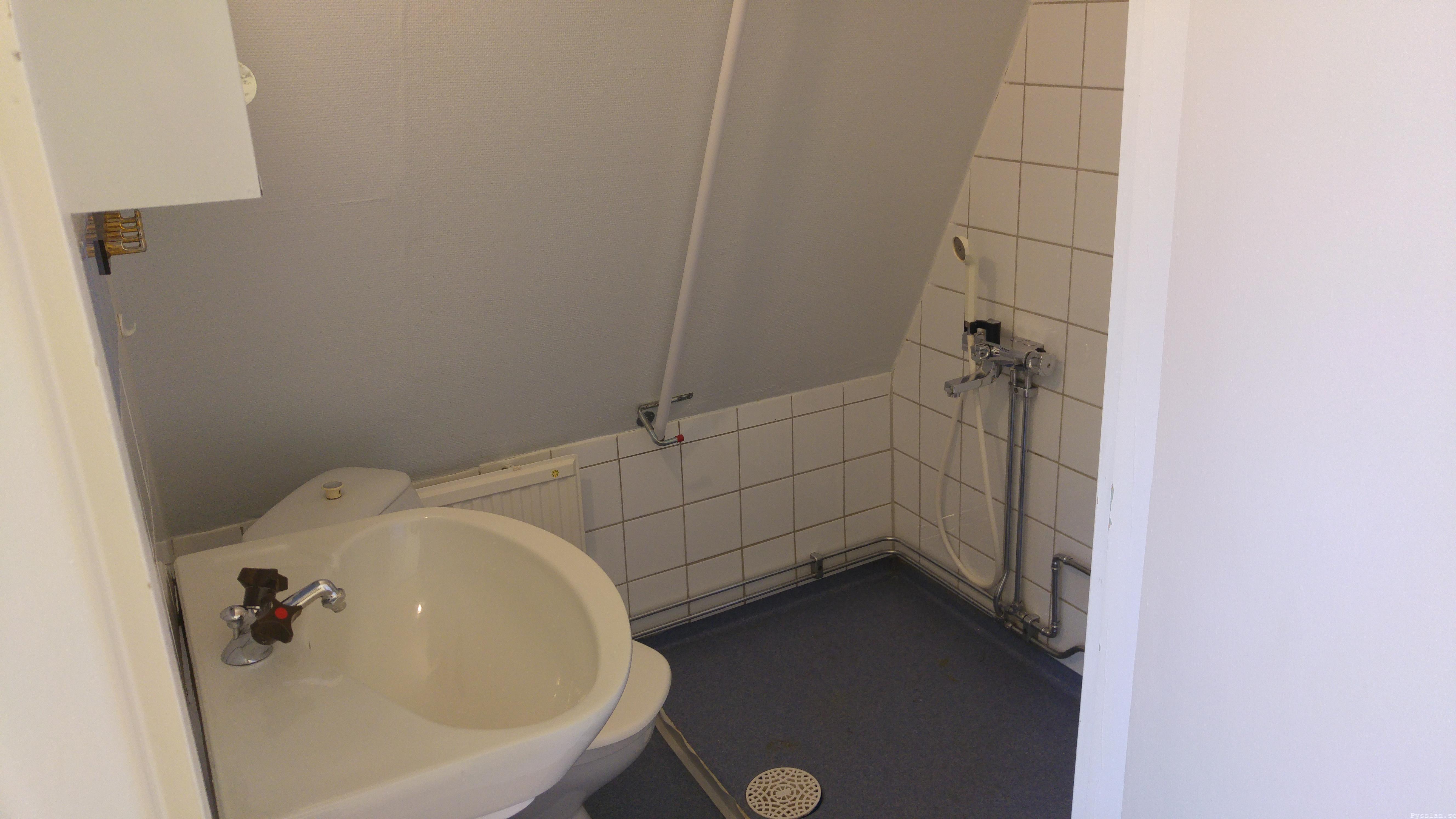 drömhus 20-talshus rött hus vita knutar renovering jugend husdröm pysslan blogg badrum i kattvind