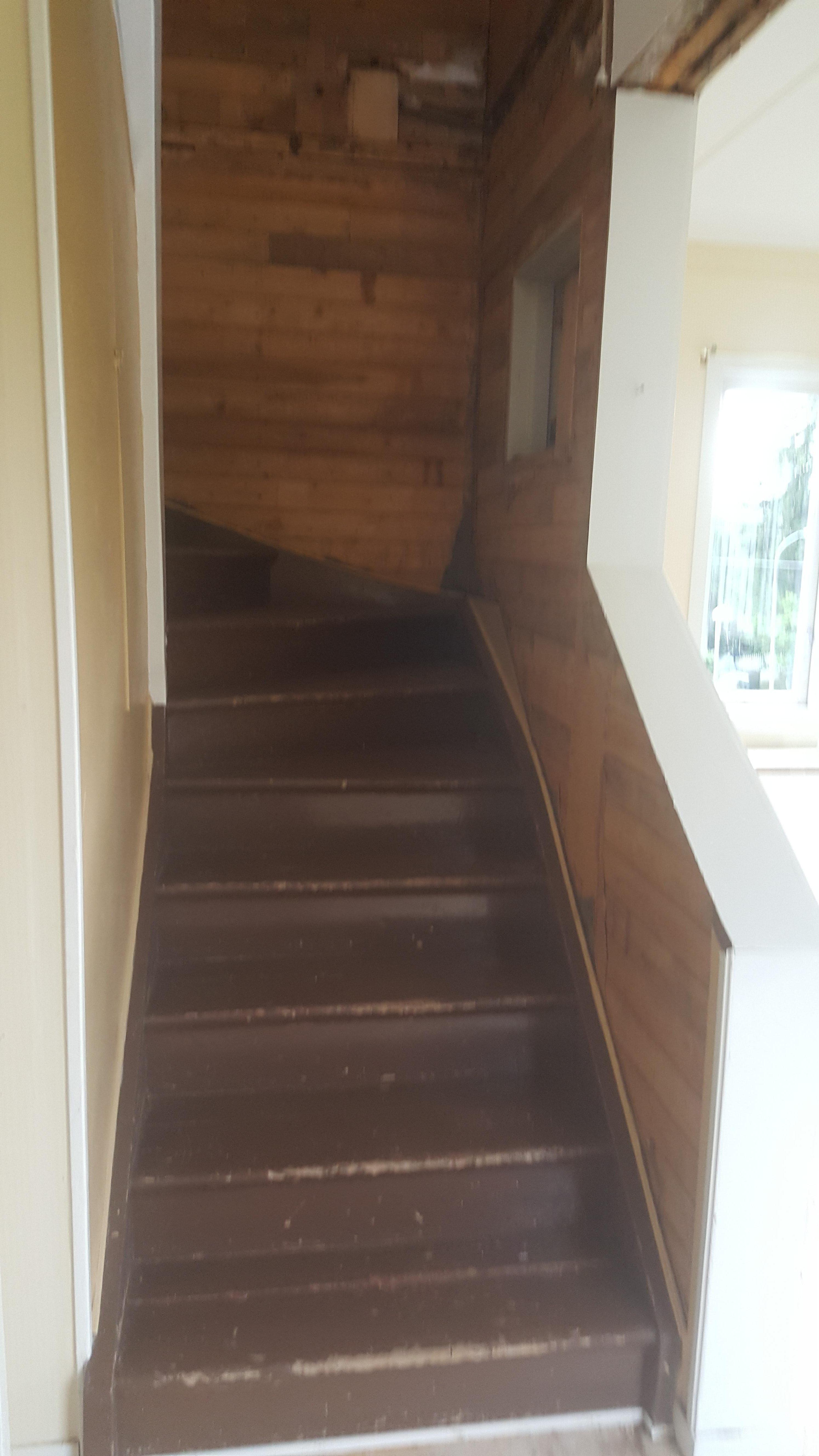 trapp 20-talsdröm 20-talshus renovering pysslan blogg