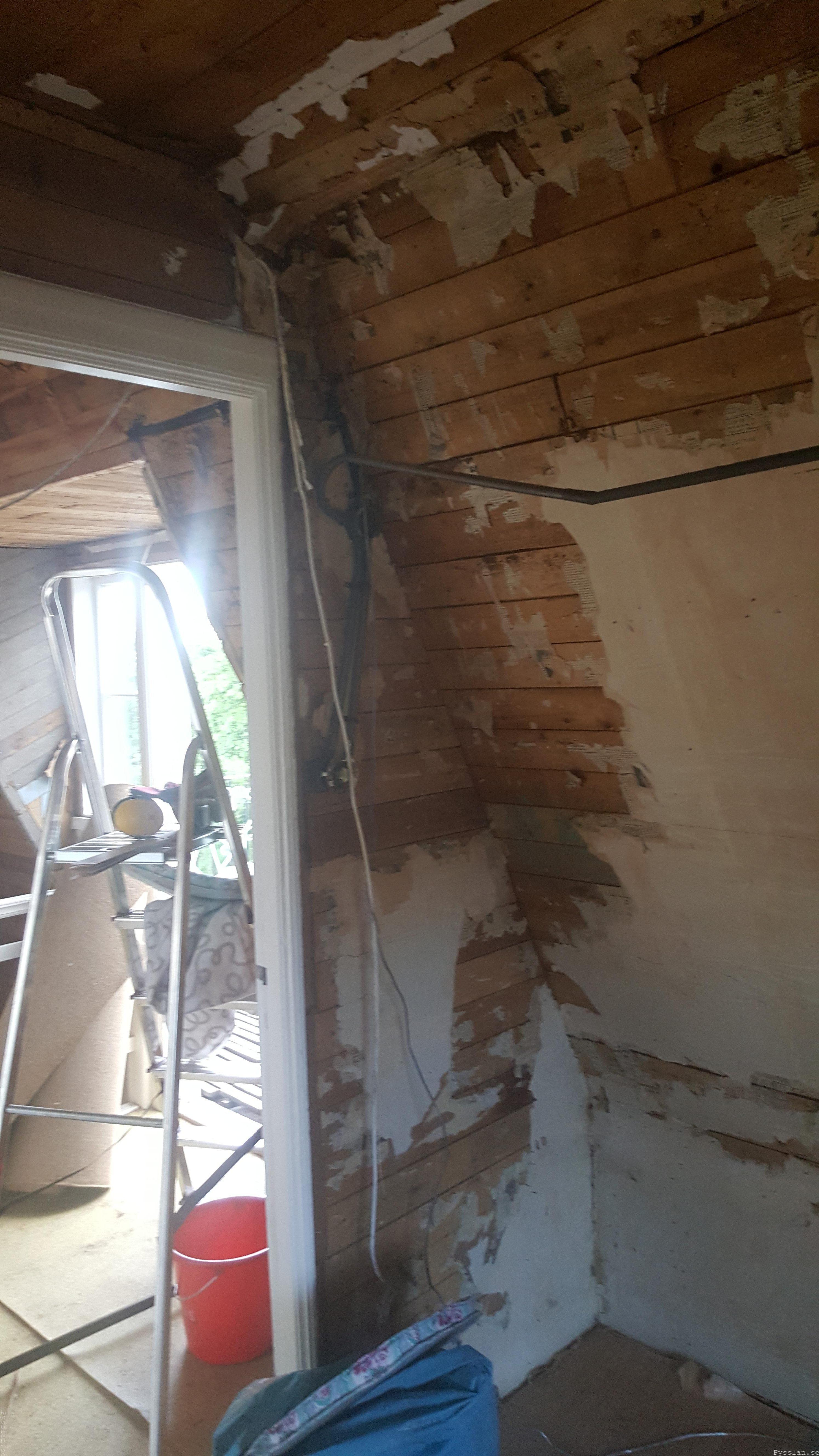 Inbyggd el stora sovrummet 20-talsdröm 20-talshus renovering pysslan blogg